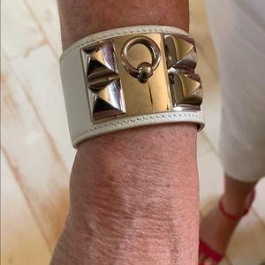 Hermès white CDC bracelet